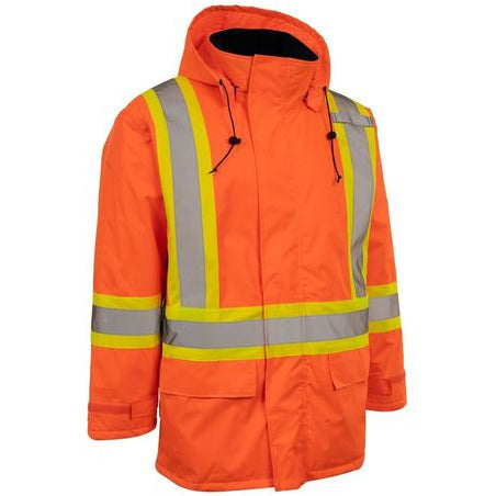 Forcefield Hi Vis Insulated Miners Jacket