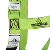 PEAK WORKS Compliance Harness - 1D - Class A - Pass Though Buckles