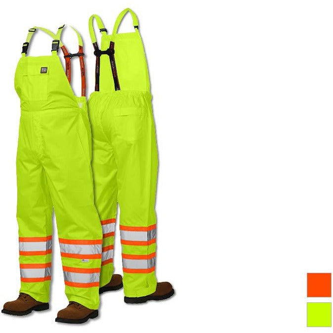 Work King Safety rain Overalls