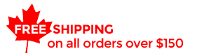 FREE SHIPPING on all orders over $150