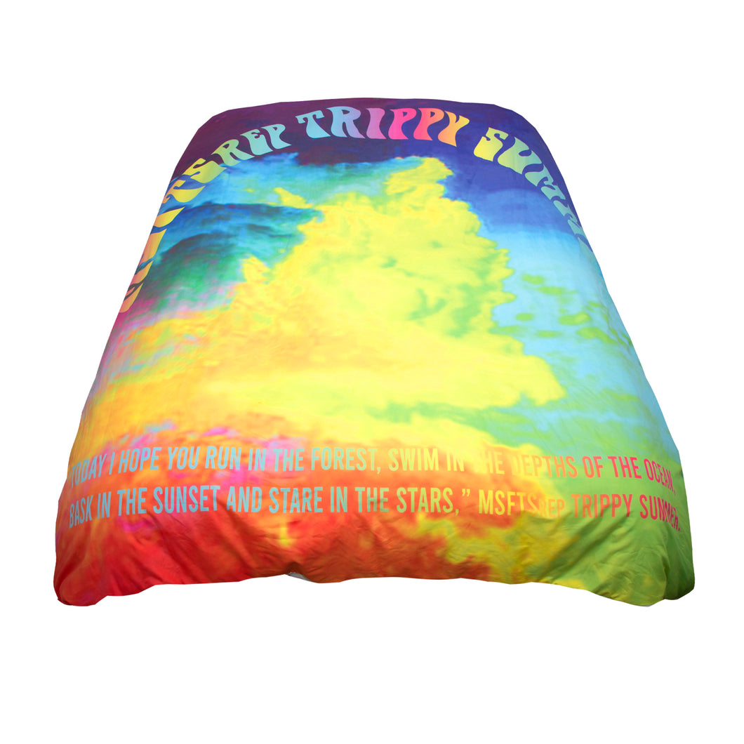 MSFTS Duvet Cover Set, Tie Dye