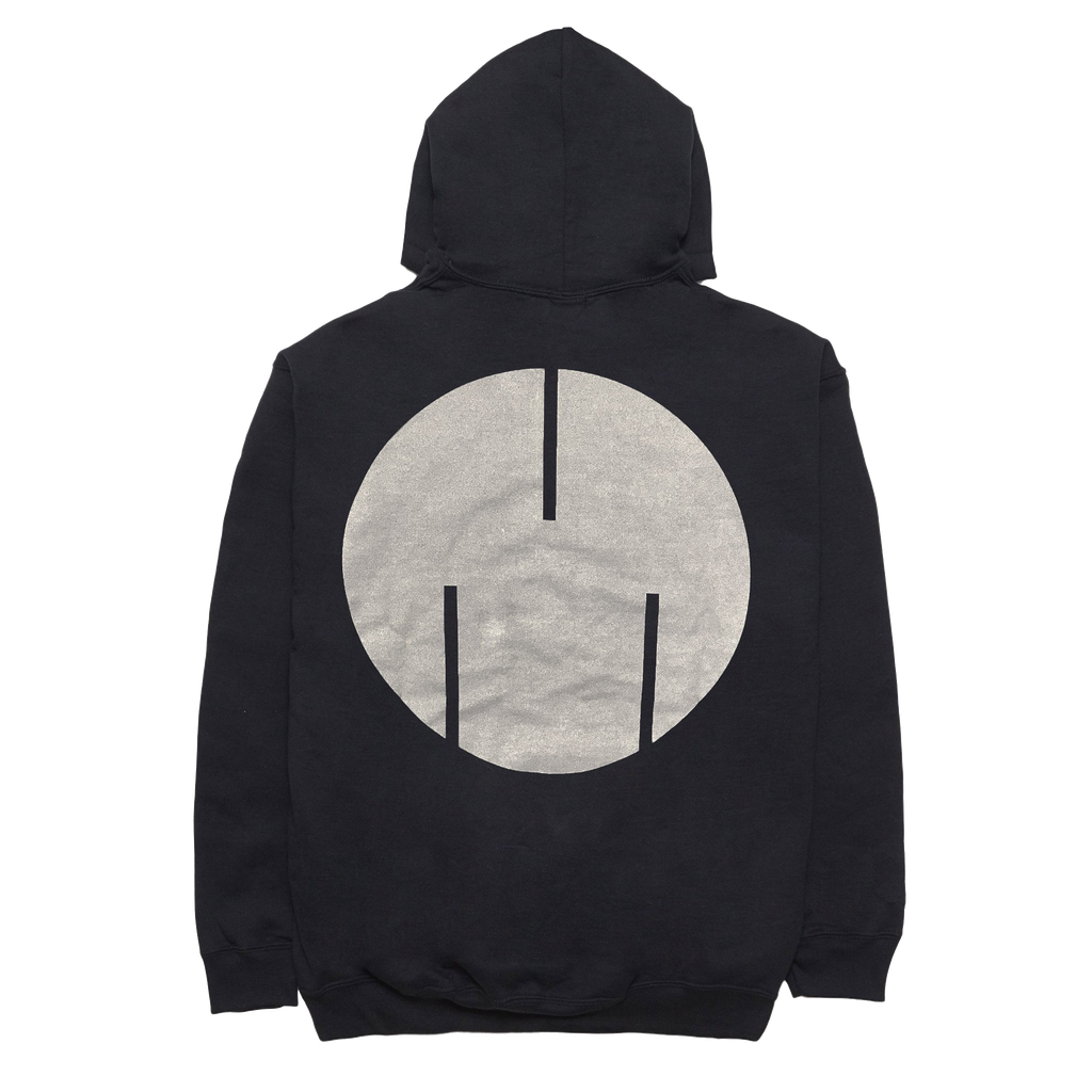 Circle Logo Sweatshirt, Black/Silver