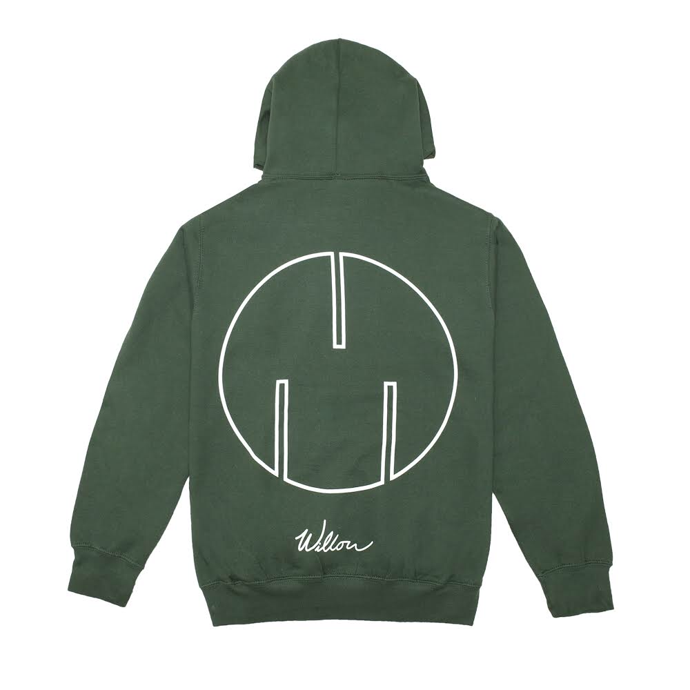 "Willow ""1st"" Hoodie, Green"