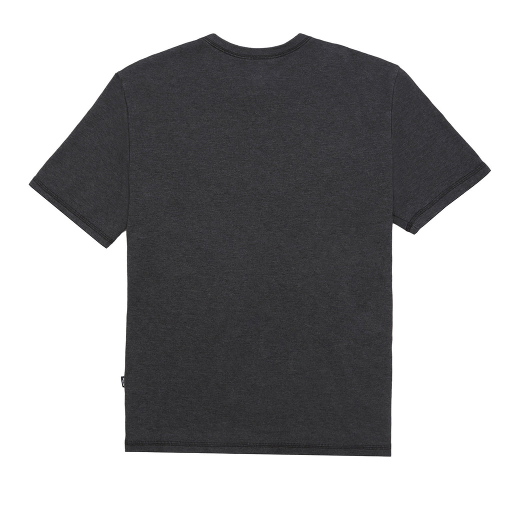 Collage Tee, Black Heather