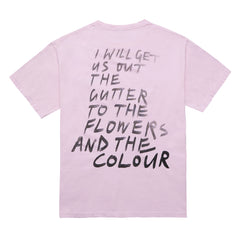 Flower and the Colour T-Shirt, Pink