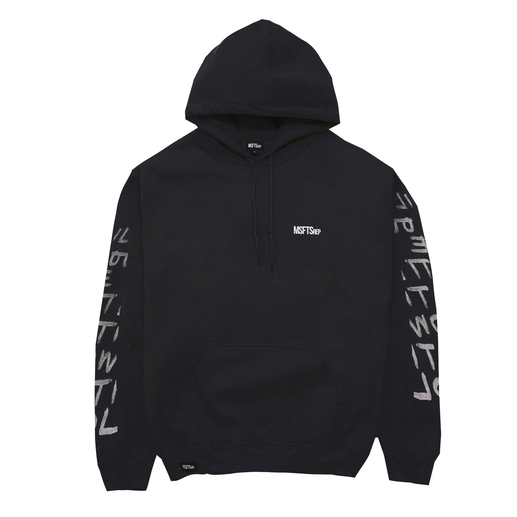 Flower and the Colour Hoodie, Black