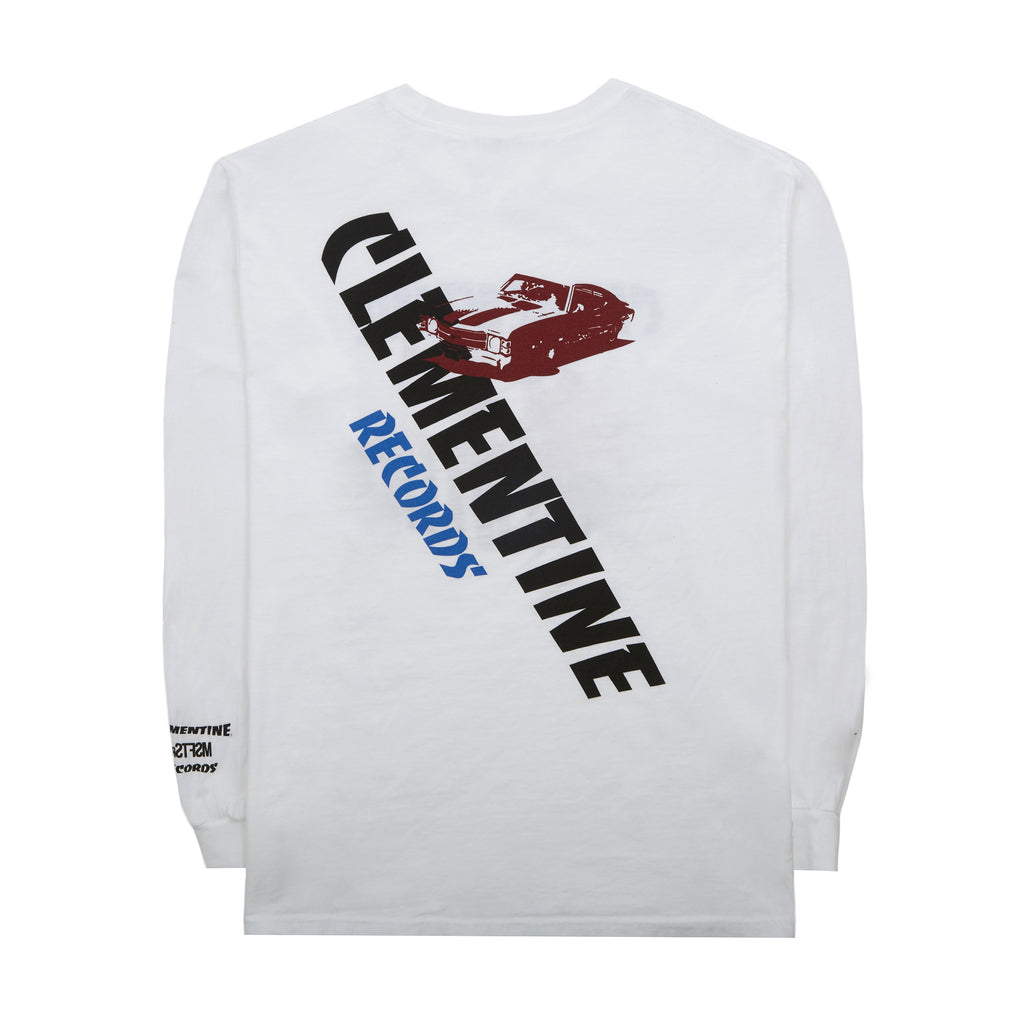 'Clementine Records' T-Shirt, White