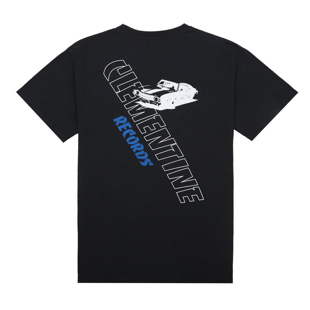 'Clementine Records' T-Shirt, Black