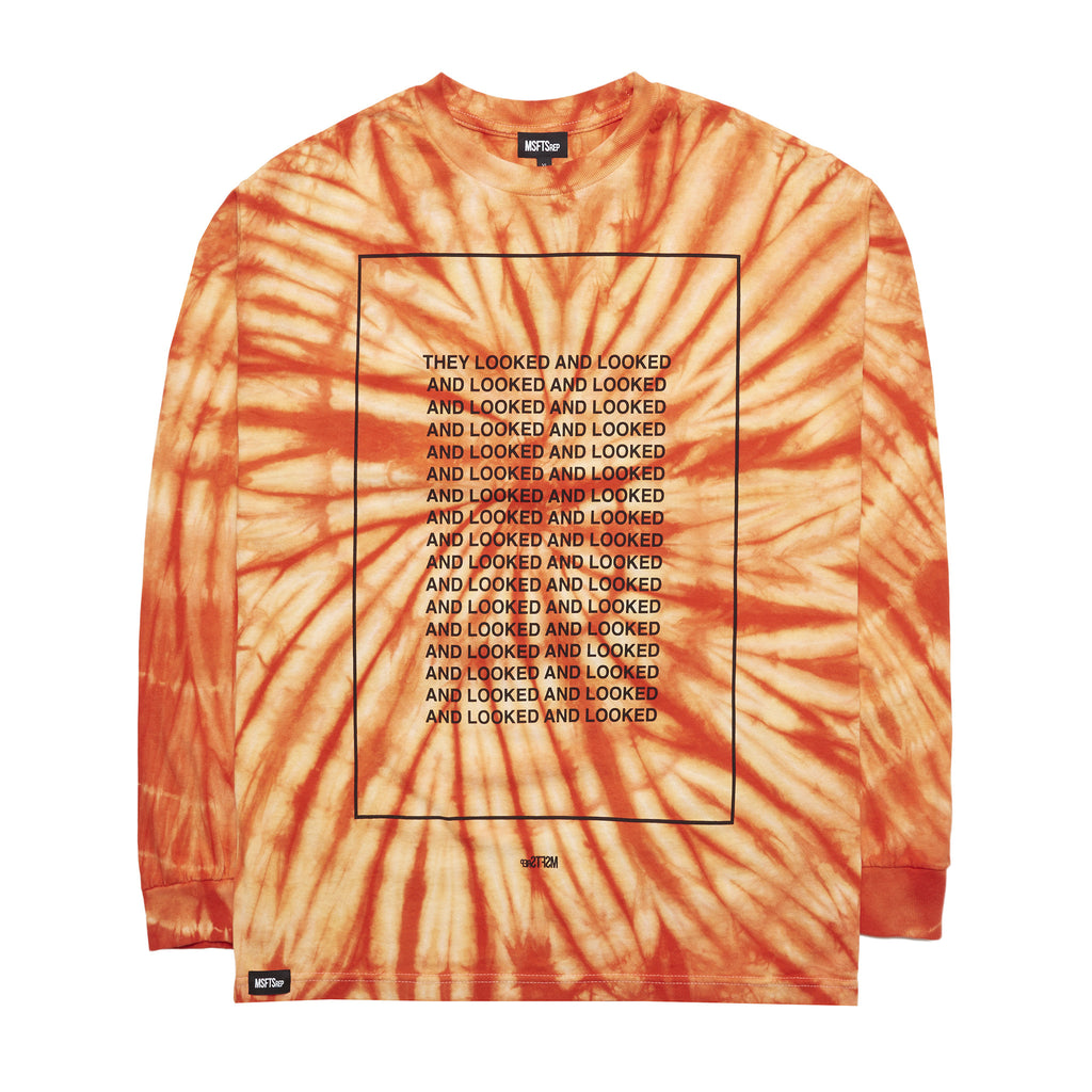 Never Saw Tie Dye T-Shirt, Orange