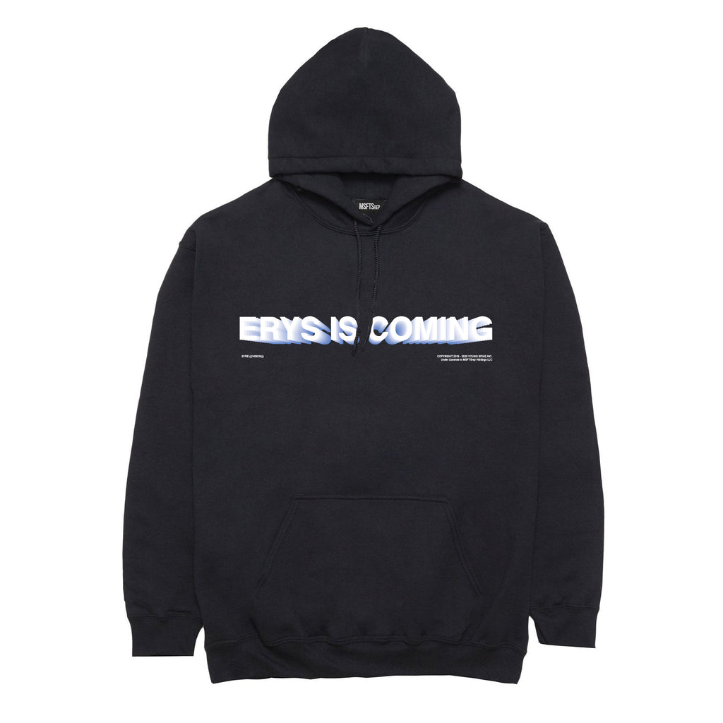 ERYS Is Coming Hoodie, Black