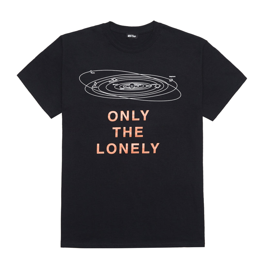 Only The Lonely T-Shirt, Black