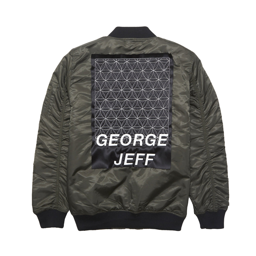 George Jeff Bomber Jacket, Military