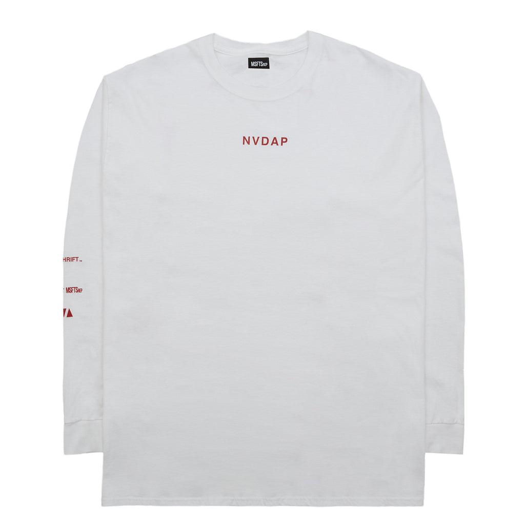 'NVDAP' T-Shirt, White
