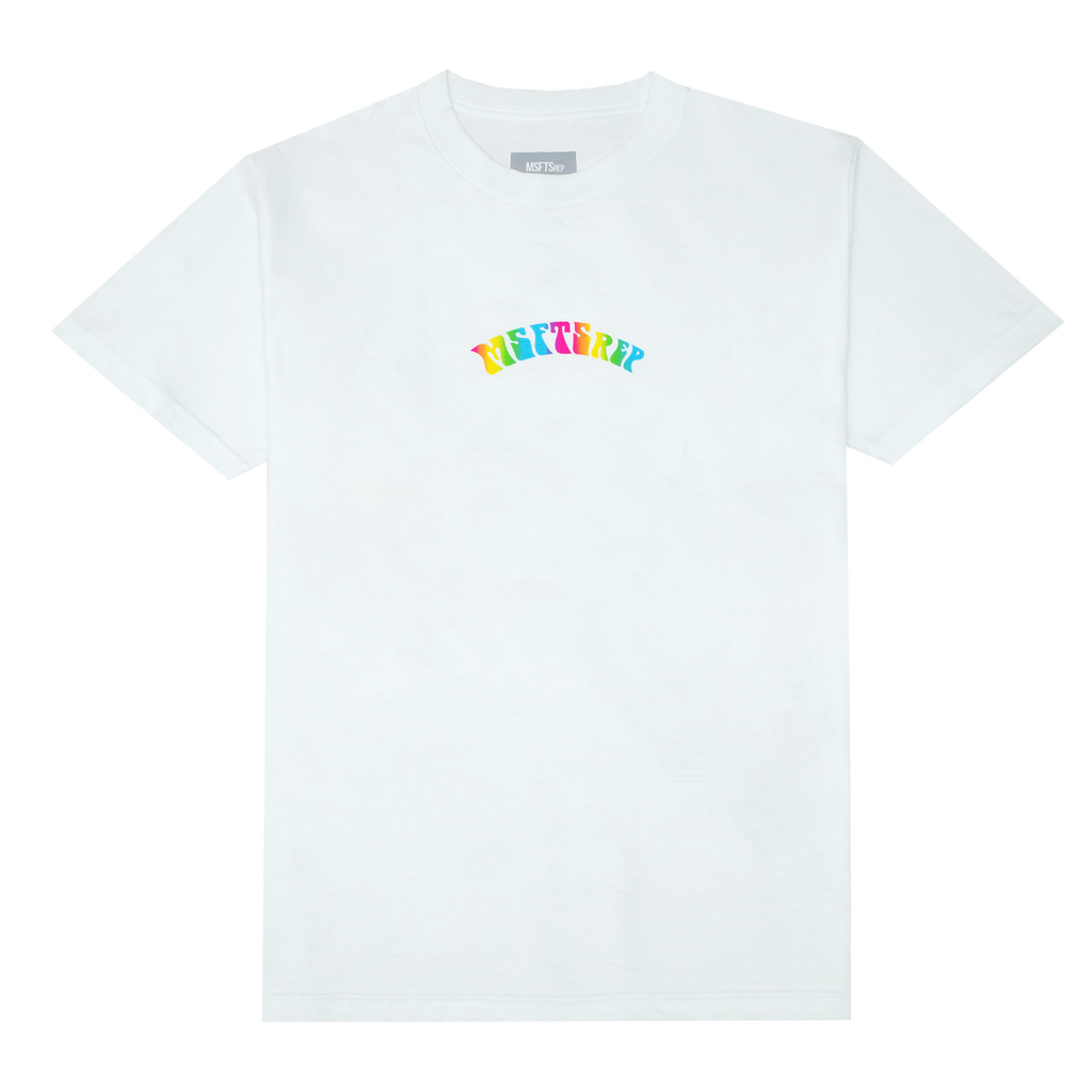 Trippy Logo T-Shirt, White