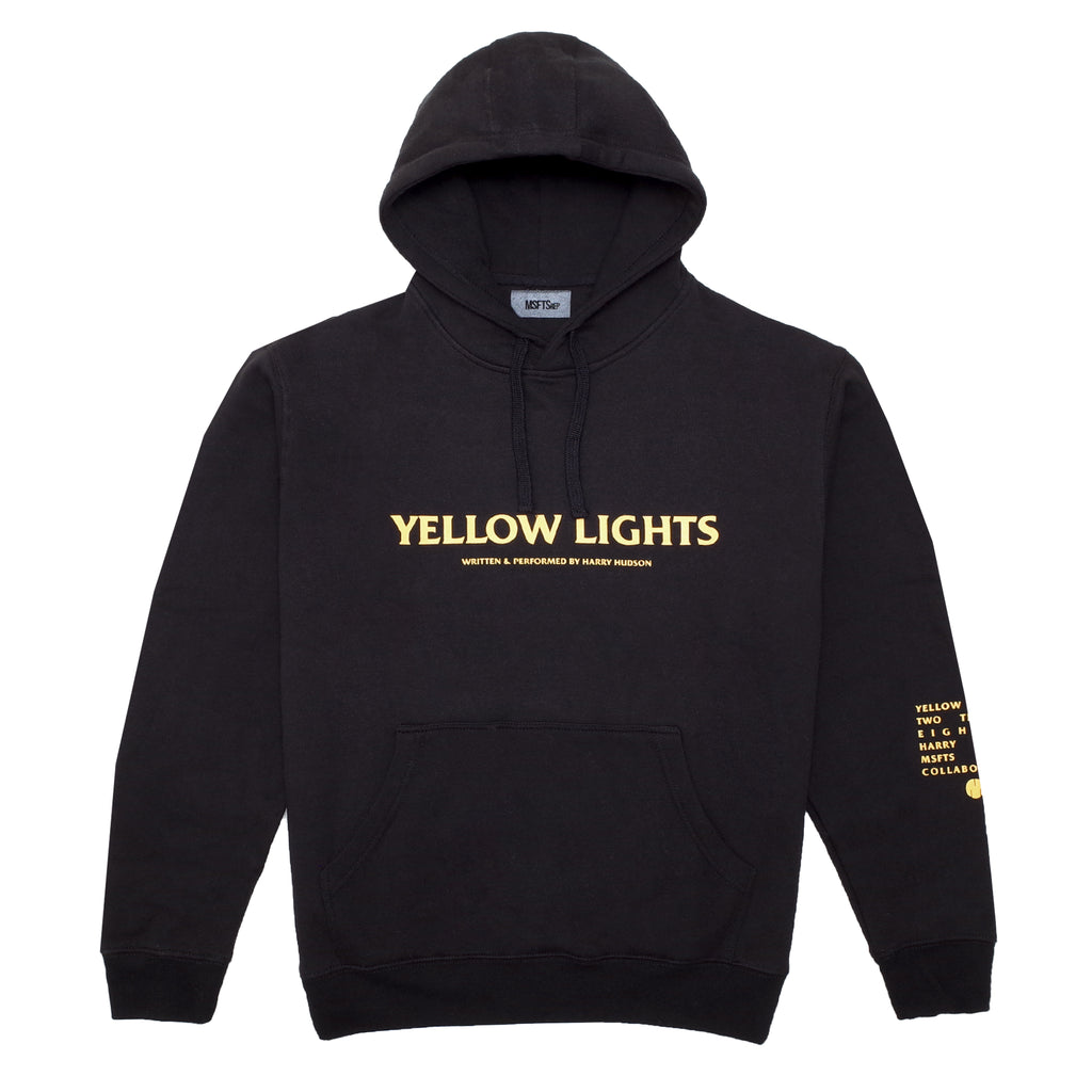 Yellow Lights Hoodie (Black)