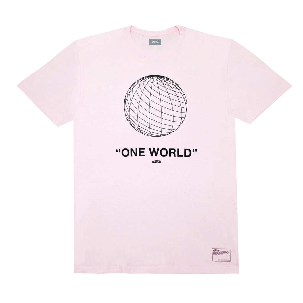 One World T-Shirt, Pink