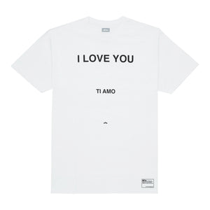 I Love You T-Shirt, White