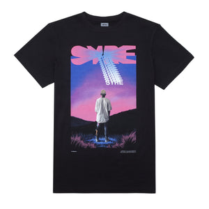 SYRE Mountain T-Shirt, Black