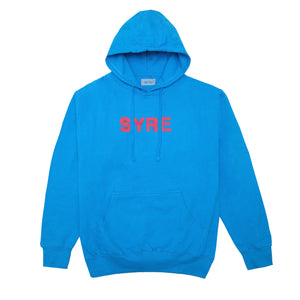 SYRE Died Hoodie, Turquoise