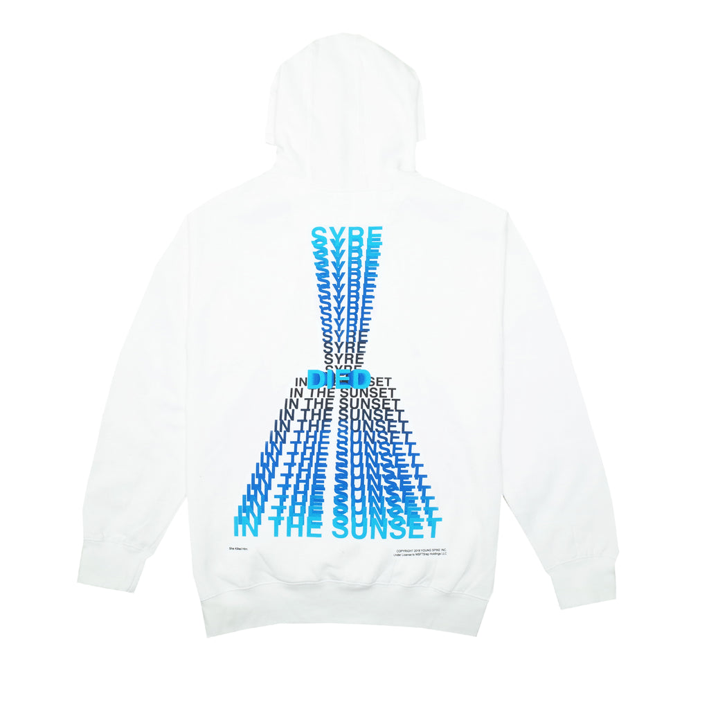 SYRE Died Hoodie, White