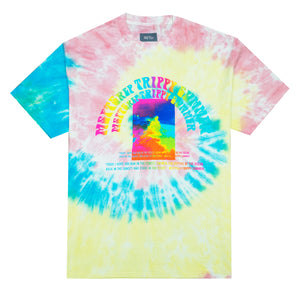 Trippy Summer T-Shirt, Tie Dye