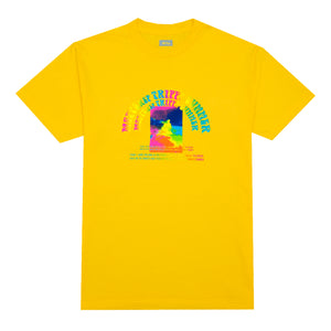 Trippy Summer T-Shirt, Yellow