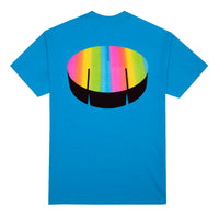 Trippy Summer T-Shirt, Electric Blue