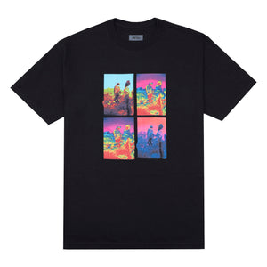 Trip Grid T-Shirt, Black