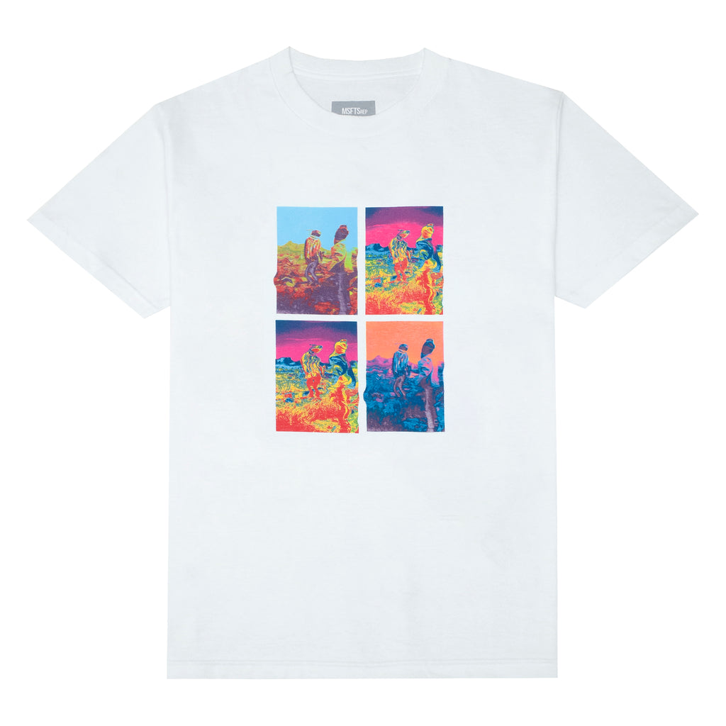 Trip Grid T-Shirt, White