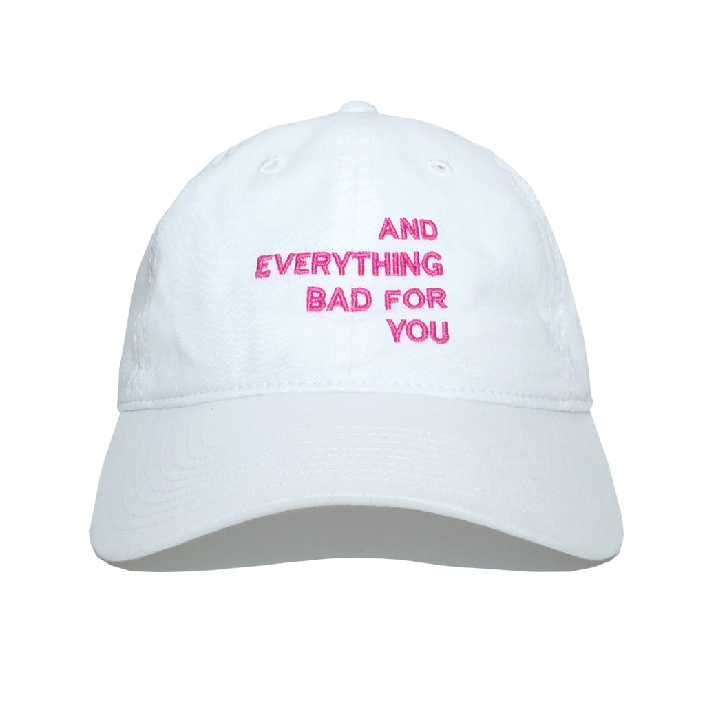 EVERYTHING CAP, WHITE