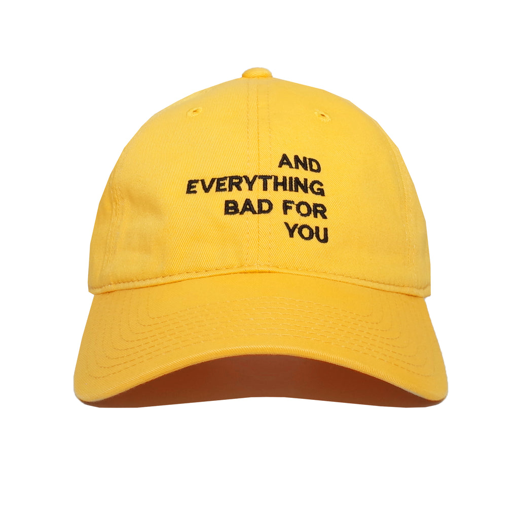 EVERYTHING CAP, YELLOW