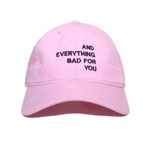 EVERYTHING CAP, PINK