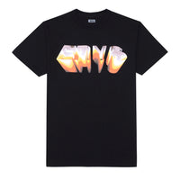 CHROME T-SHIRT, BLACK