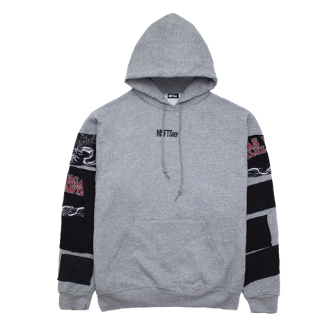 Patchwork Sweatshirt, Heather Grey (Harley Davidson)