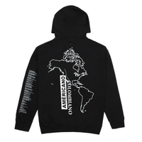 Americano Colombiano Hoodie, Black