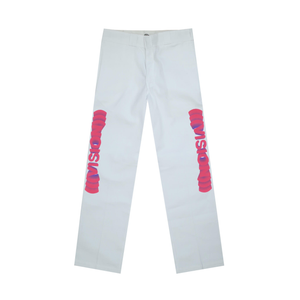 Vision Dickies Pant, White