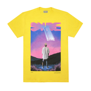SYRE Mountain T-Shirt, Yellow