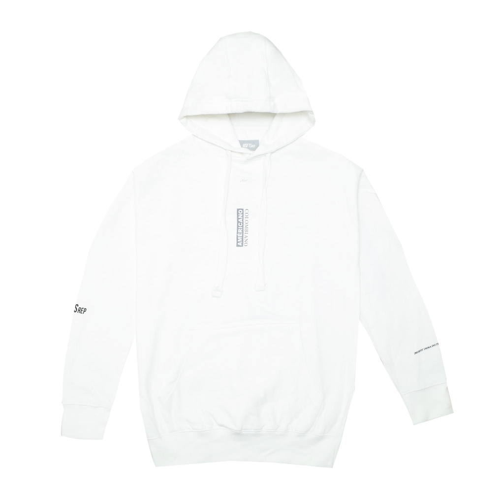 Americano Colombiano Hoodie, White
