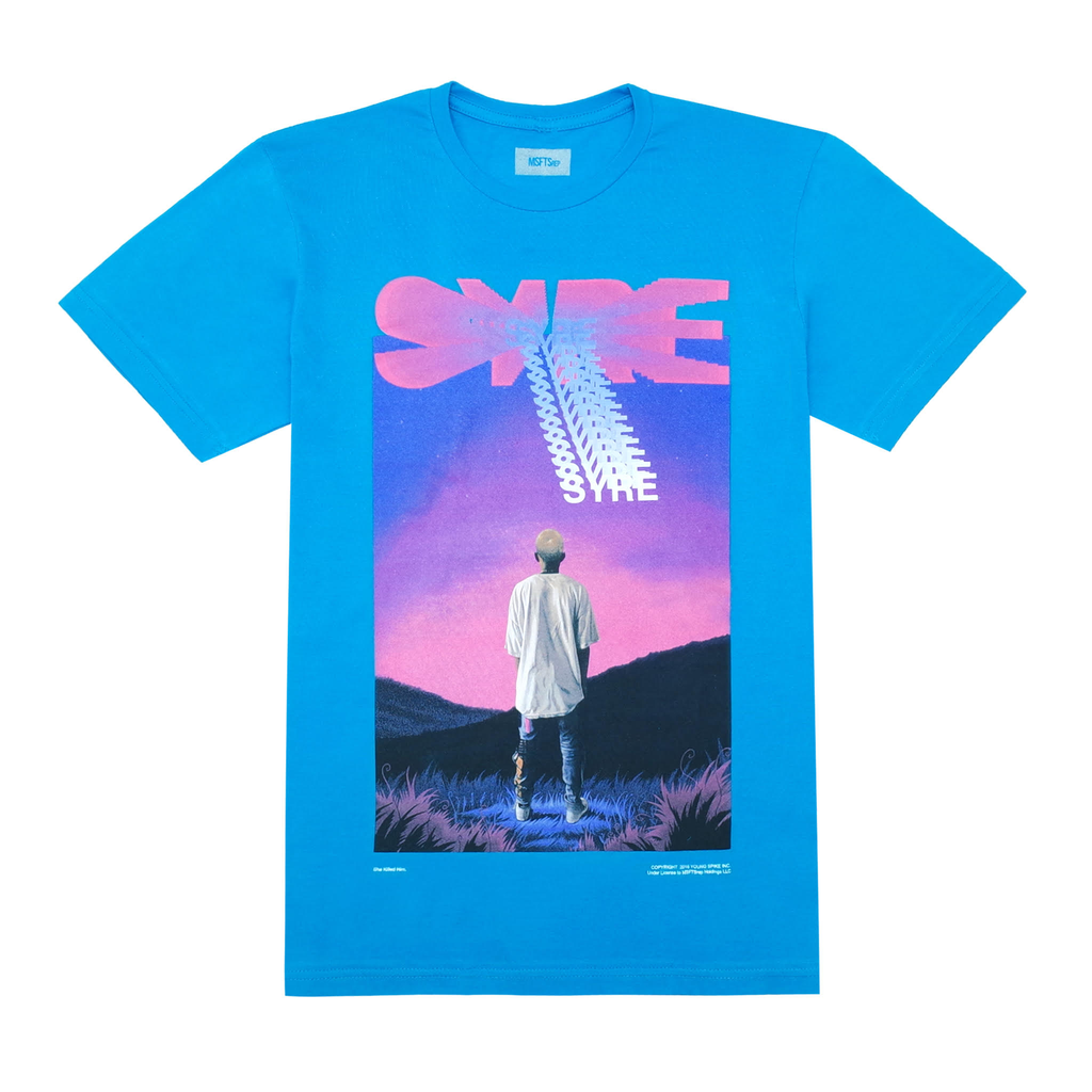 SYRE Mountain T-Shirt, Blue