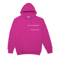 DON'T BE LIKE HIM SWEATSHIRT (PINK) + DIGITAL ALBUM