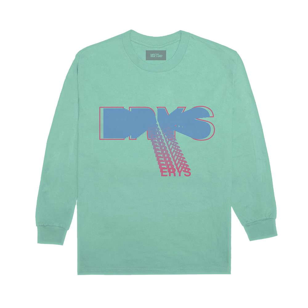 ERYS LONG SLEEVE T-SHIRT (SEAFOAM) + DIGITAL ALBUM