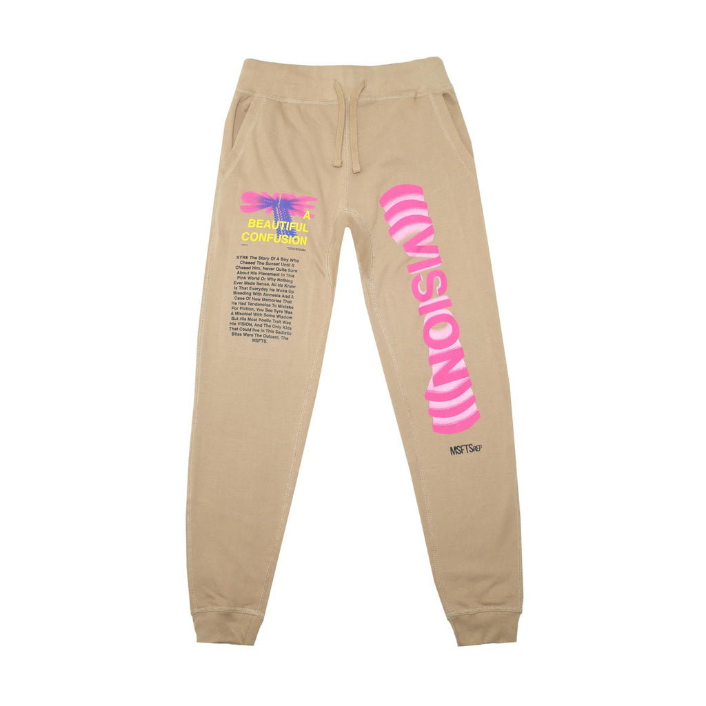 SYRE Sweatpant, Tan