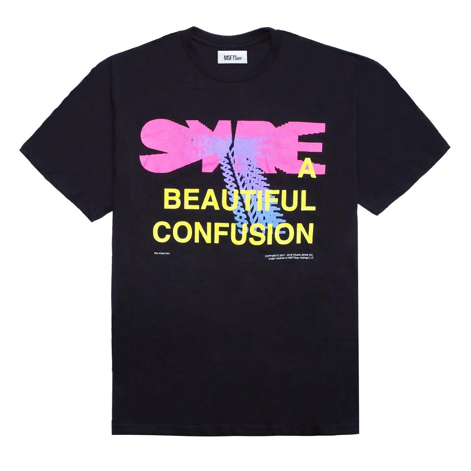 SYRE Tour T-Shirt, Black