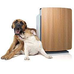 Alen BreatheSmart FIT50 with Oak Panel and Dogs