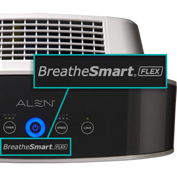 Alen BreatheSmart Control Panel Close Up