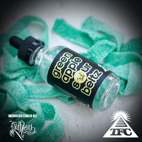 TFC - Green Apple Sour Beltz (60ML)