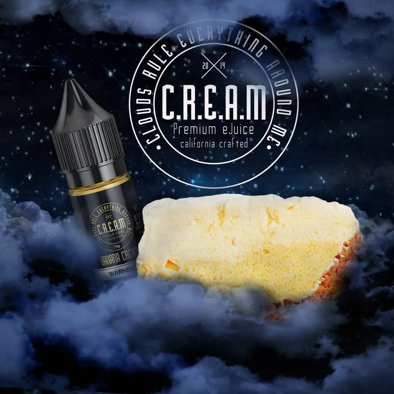 C.R.E.A.M - VI Banana [Nic Salt] (16.5ML)