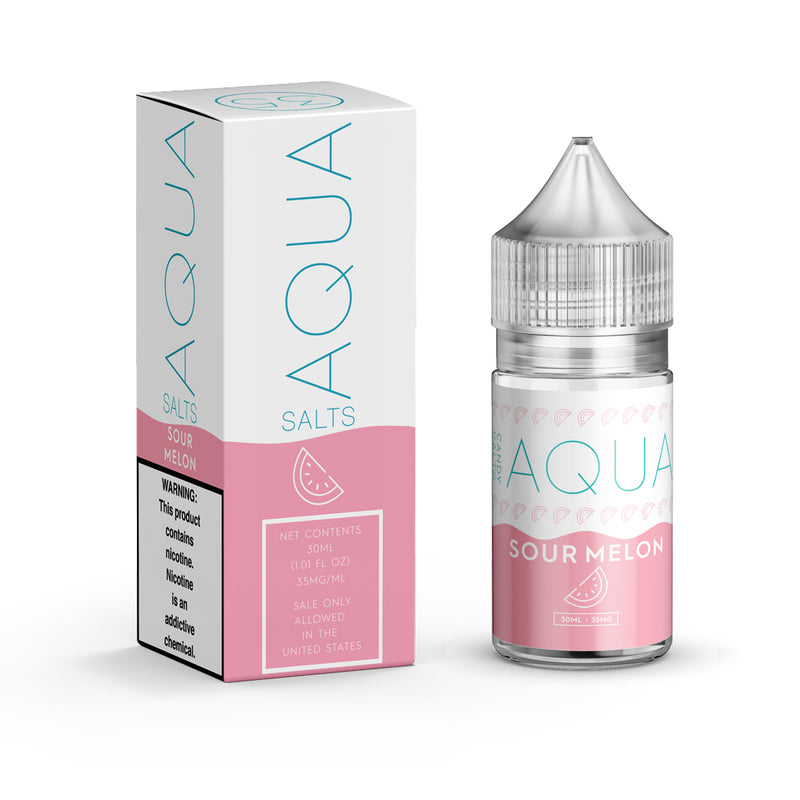 Aqua Salts - Sour Melon [Salt Nic] (30ML)