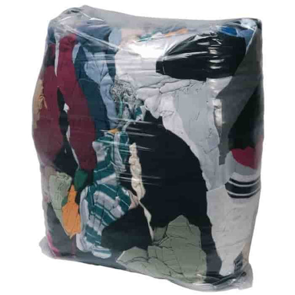 10kg Bag Of Rags Wiping Cloths Garage Workshop Polishing Rags - Sweeney Motor Factors