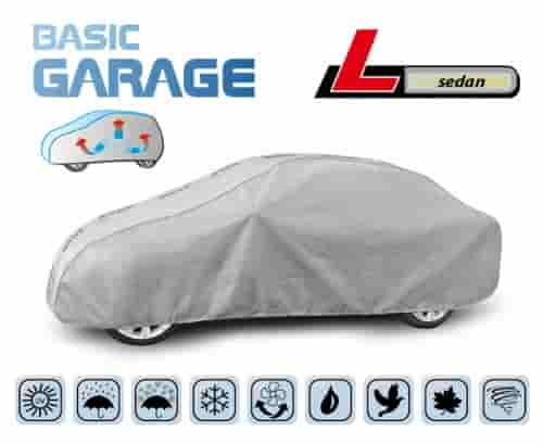 Protective Car Cover Complete To Suit Saloon Car